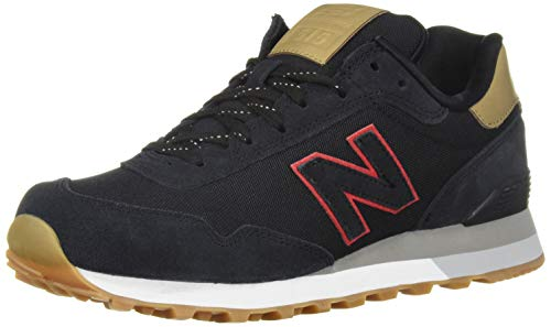 New Balance Men's 515v1 Sneaker, Black/Hemp, 8.5 4E US