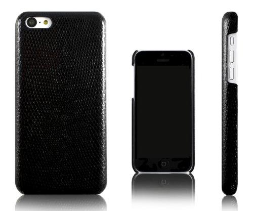 Xcessor Snake Effet Peau de Serpent Étui Coque Housse De Protection Pour Apple iPhone 5C. Dos en Pla