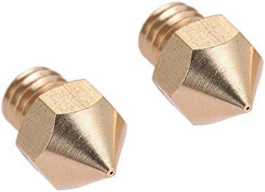Aibecy 2 piezas Extrusora de boquilla de latón Cabezal de ...
