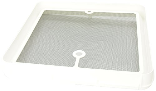 Roof Screen Vent (Heng's JRP1124R Radius Corner Screen for Jensen Roof Vents - White)