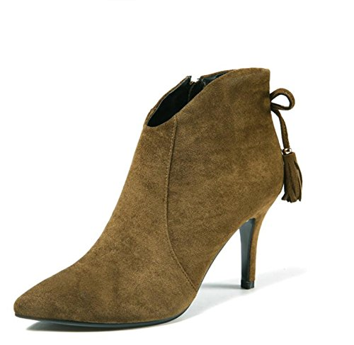 Laterale Boots 9cm With Side Bow Stagione Tie Satin High The Bow New Tip Zipper Tie The in 34 34 Cerniera Punta Ragazza Carta la heeled Alti La Line the Tacchi I Nuova Card Con Stivali Raso Girl 9cm Khskx Le in Con Season Khskx Linea qwOppa