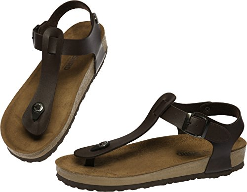 Slippers Summer 28 SNRD Fashion Unisex 215 Casual Sandals Brown 220 Shoes PqxAw7fT