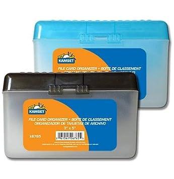 Amazon.com: Caja plástica con tapa abatible para ...