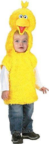 [Big Bird Vest 4 6] (Toddler Boy Big Bird Costume)