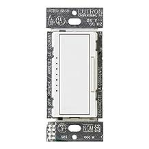 Lutron MACL-153M-WH Maestro Multi-Location CFL/LED Digital Dimmer, White, 150-watt