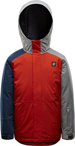 orage Boys Dub Jacket, Bright Red Combo, Size (Dub Jacket)