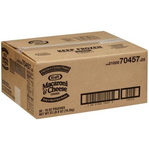 Kraft Frozen Entree Signature Macaroni and Cheese, 10 Ounce -- 36 per case.