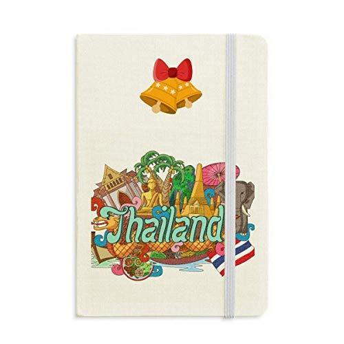 The Grand Palace Elephant Thailand Graffiti Notebook Journal Christmas Jingling -