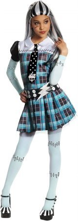 Rubies Frankie Stein Monster High Girls Child Halloween Costume | Small