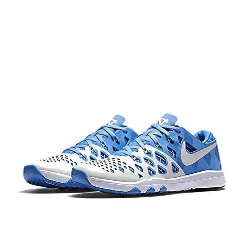 Nike Mens Train Speed 4 Amp Training Sneaker 844102 (10.5, Valor Blue/White-College Navy (UNC))