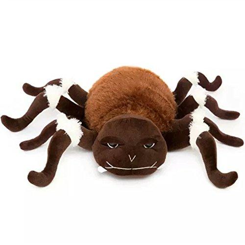 [Baby Simulation Fake Lifelike Stuffed Plush Spider Doll Animal Toys Lovely Cartoon Kids Children Gifts] (Van Gun X Sword Costume)
