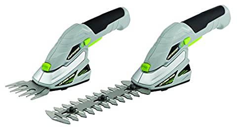 Earthwise LSS10163 Cordless 2-in-1 Garden Grass and Hedge Trimmer