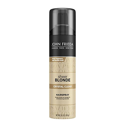 John Frieda Sheer Blonde Crystal Clear Hairspray, 8.5 Ounces (Spray John Frieda)