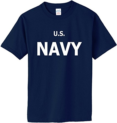 Blue Adult Md Apparel (US Navy T-Shirt~Navy Blue~Adult-MD)