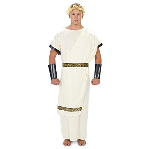 Caesar Toga (Long) Adult Costume L (Fancy Dress Costumes Adults)