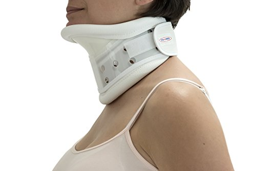 Cervical Rigid Collar - Ita-med Cc-265 Rigid Plastic Cervical Collar with Chin Support, Large