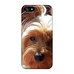 New LZT4955BHMf Yorkie Skin Cases Covers Shatterproof Cases For Iphone 5/5s
