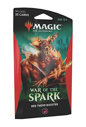 Red Booster Pack - Magic The Gathering: War of The Spark - Theme Booster Pack - Red