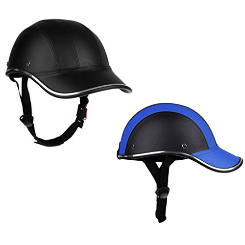 f0c009f57e61e Royarebar Unisex - Adult Cycling Bicycle Helmet 2pcs Adjustable Baseball  Cap Hat Helmet Head Protector for Riding Cycling Bicycle Motorcycle