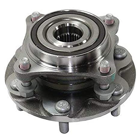 Front Wheel Hub and Bearing Assembly for 2007-2009 Toyota FJ Cruiser// 2003-2018 Toyota 4Runner// 2005-2018 Toyota Tacoma 1PC//4WD Bodeman