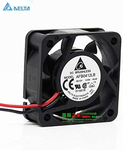 for delta 4cm 40MM 441.5CM 404015MM double ball bearing fan 4015 AFB0412LB mute durable