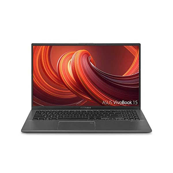 "ASUS VivoBook 15 Thin and Light Laptop, 15.6"" Full HD, AMD Ryzen CPU, DDR4 RAM, SSD, AMD Radeon Vega 8 Graphics,Slate Gray 1"