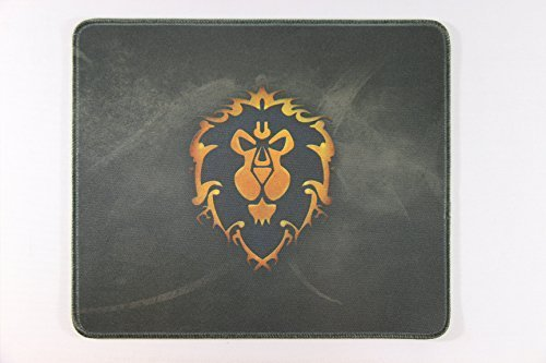 WOW 12×10 Inch World of Warcraft Alliance Flag Badge Large Mouse Pad Mouse mat Waterproof Nonskid