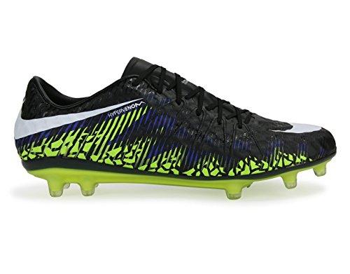 Nike Mens Hypervenom Phinish Fg Svart / Metallisk Hema Fotbollsskor