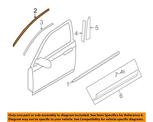 (Mazda TE69-50-981A - Mould(r),frt.sash A)