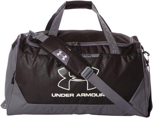 Under Armour Hustle Storm MD Duffel Bag Black/Graphite/White