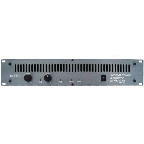Rolls RA2100b 2-Channel 100 Watts/RMS Channel @ 4 Ohms Power Amplifier