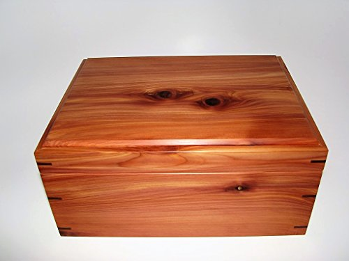 cedar-keepsake-box-9-x-7-x-425-leather-upholstered-memory-box-fathers-day-gift-wooden-memory-box-woo