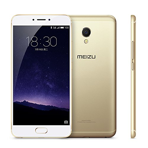 Meizu MX6 Unlocked Smart Phone RAM 4GB+ROM 32GB 5.5'' Screen 4G FDD-LTE Champaign Gold by Meizu