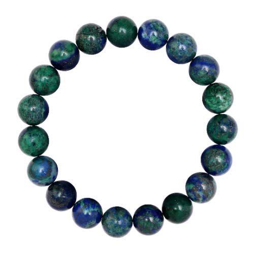 (Bead Jewelry Making Nice Chrysocolla Size 8mm Length 7.5 Inch Daily Wear Elastic Cord Bracelet )