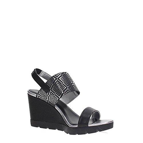 The FLEXX B606/01 Zapatos De Cuña Mujer NEGRO