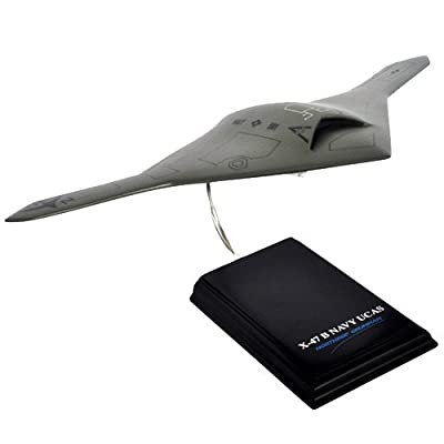 Mastercraft Collection Unmanned Combat Air System Desktop Model Kit (1/48 Scale), Gray