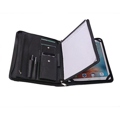 Wool Felt Organizer Portfolio Case for 12.9 inch iPad Pro...