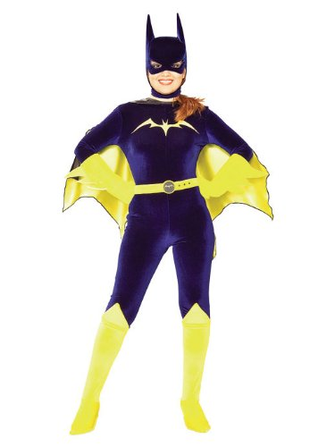 Rubie's Women's Batman DC Style Guide Gotham Girls Batgirl, Multi, Small -