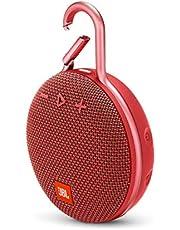 سماعة بلوتوث لاسلكية محمولة مقاومة للماء كليب 3 من جيه بي ال، احمر، JBLCLIP3RED