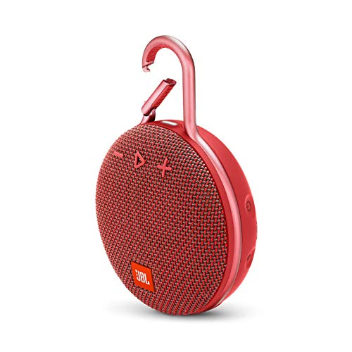 JBL JBLCLIP3RED Bocina Inalámbrica, Color Rojo
