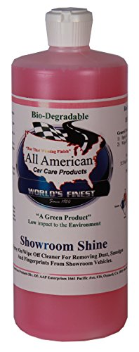 All American Car Care Products - Showroom Shine - Quick Wax and Detailer Mist and Wipe (32 Ounces) (Quick Mist And Wipe Detailer compare prices)