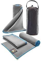 Set of 3 Microfiber Towels