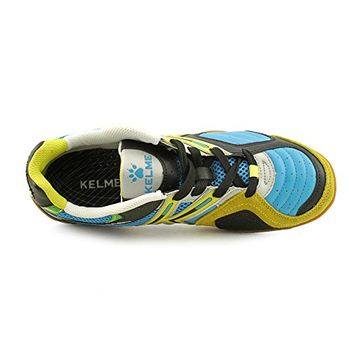 Kelme Star 360 Mens Michelin Leather Mesh Inset Soccer Shoes Turquoise IkftC