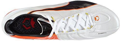 01 black De King Weiß Flash Blanc white Homme Ef Football Puma Fg Ii fluo Chaussures Orange HFZZqw