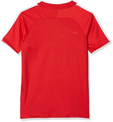 White Nk university White Sqd17 Nike nbsp;ss Rojo Manches Dry Et Garçon À Courtes T shirt Red Z5wwq716n