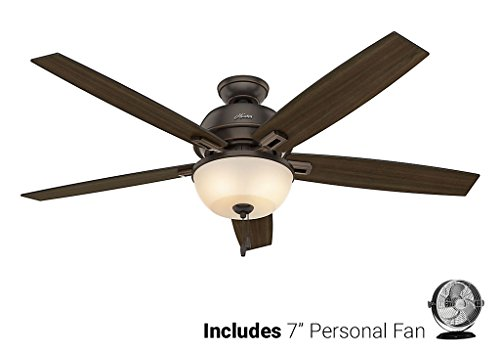 Hunter Ceiling Fan Black 54170 Donegan 60