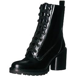 Marc Jacobs Women's Ryder Lace up Ankle Boot, Black, 36 M EU (6 US)