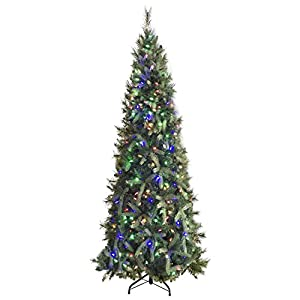 Morning Star 9 Foot Christmas Tree Fir Tree with 1000 LED Lights 3774 Tips Easy Assembly 2