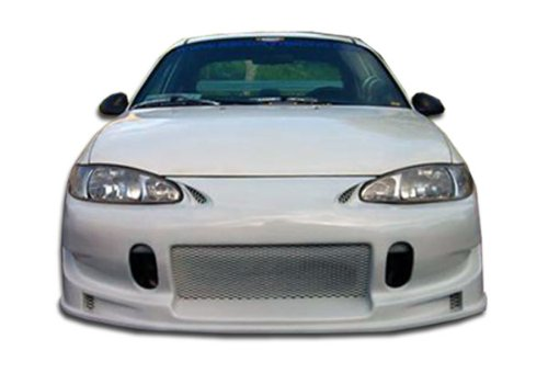 Duraflex Replacement for 1997-2002 Ford Escort 4DR Buddy Front Bumper Cover - 1 Piece