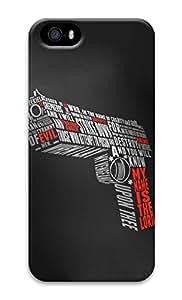 Unique Design Cases for iPhone 5 3D Gun Shoot Cover